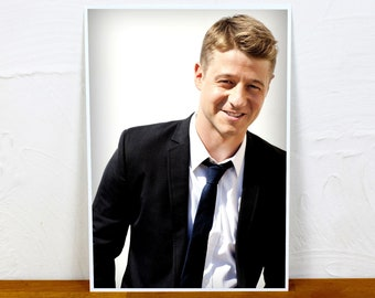 Ben McKenzie Poster Print - 2 sizes - A4 and A3