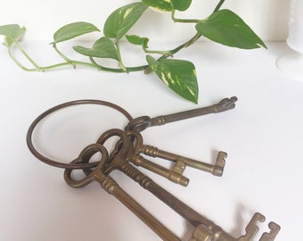 Brass decorative  keys