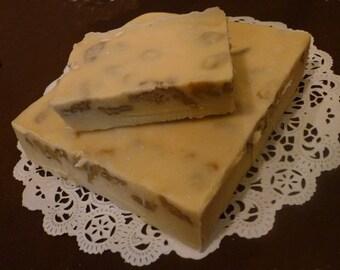 Vanilla Walnut Fudge, 1 1/2 pounds, Old-fashioned Cream & Butter Recipe
