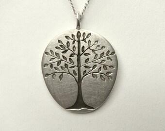 "pendant "" little linden tree """