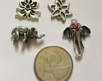 Lot of 4 Assorted Charms