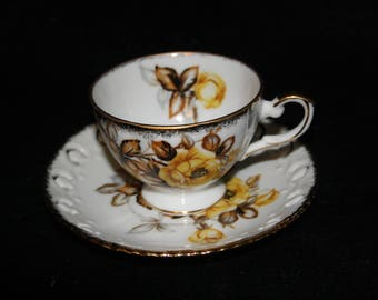 Tea Cup and Saucer Made By Westville made in Japan