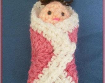 Baby Shower Favours Crochet Pattern, PDF Instant Download
