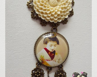 pendant necklace '' Japan ''