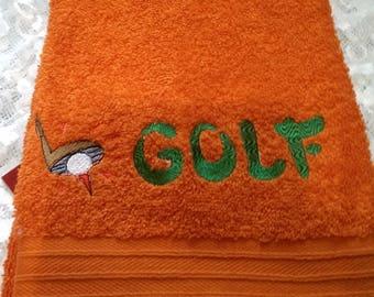 Golf Hand Towel, Hand Towel, GOLF, Golfing
