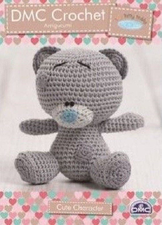 DMC Natura winzige Tatty Teddy Amigurumi Häkelanleitung 15283, tatty ...