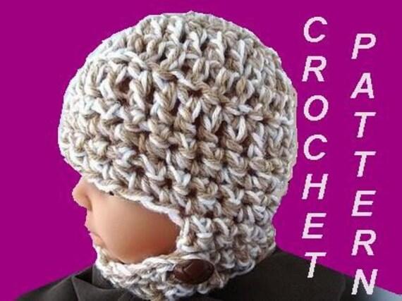 Crochet Pattern Hat Childs Balaclava Number 224