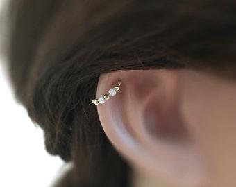 Helix Earring Cartilage Earring Hoop Helix Hoop, silver helix, helix hoop, helix cartilage earring, forward helix earring, helix piercing