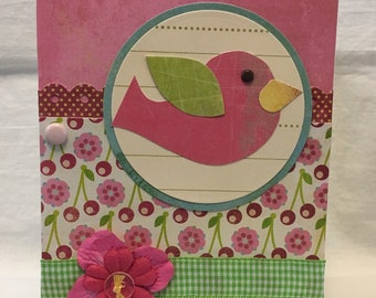 Sweet Birdy Birthday Card