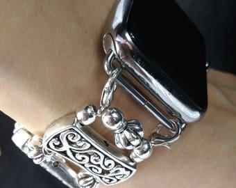 Apple Watch Band 38mm ,  42 mm Silver Apple iWatch Band 38 mm  Bracelet, metal strap