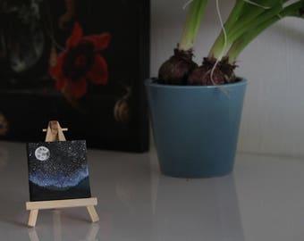Tiny galaxy painting