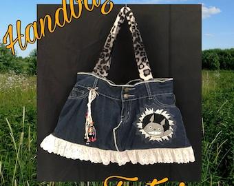 TOTORO-Purse-Wallet-Handbag- Tote bag-Unique piece