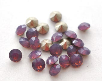 Swarovski 29ss Cyclamen Opal Xirius Chatons 6mm Crystal