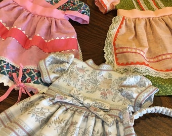 Doll Dresses - Vintage Doll Clothing - American Girl Doll Clothes