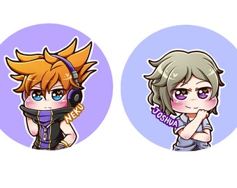 The World Ends With You 1 Inch Buttons