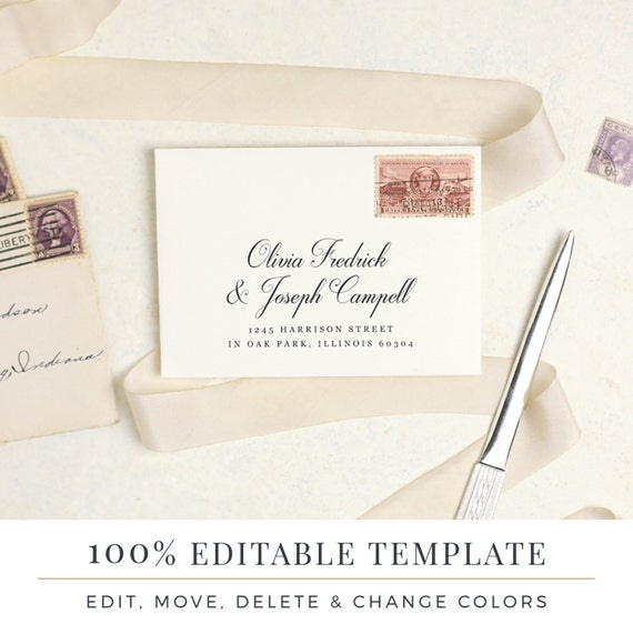 Rsvp Envelope Template Grude Interpretomics Co