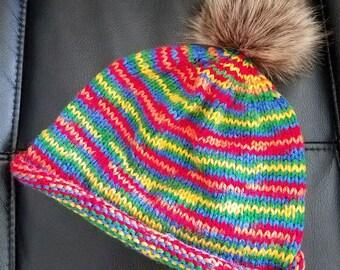 Crayon Colors Hat