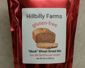 Mock Wheat Gluten-free Bread Mix