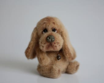 Crochet dog, Amigurumi dog, Spaniel dog, Dog lover gift, Basset hound dog,  Basset hound toy, Puppy basset hound Symbol 2018