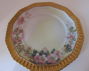 Haas & Czjzek Hand Painted Plate signed by Boots
