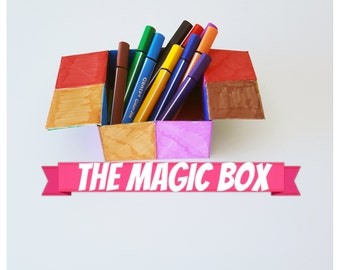 A beautiful jurney/story with a MAGIC BOX  (for you and your kids) guided step by step by our easy to understand PDF guide.