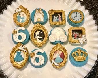 Cinderella Chocolate Covered Oreo's, Princess