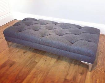 Bespoke Handmade Footstool  Bench