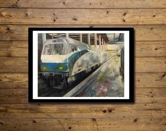Poster Artistico 50x70cm TRAIN 2