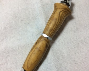 Olive wood mechanical pencil 5.6 mm pencil lead from