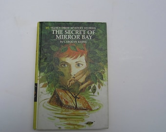 Nancy Drew The Secret of Mirror Bay, Nancy Drew Mystery The Secret of Mirror Bay number 49, Nancy Drew series 1970s book, Carolyn Keene