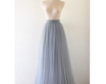 Adult Tulle Skirt Floor Length