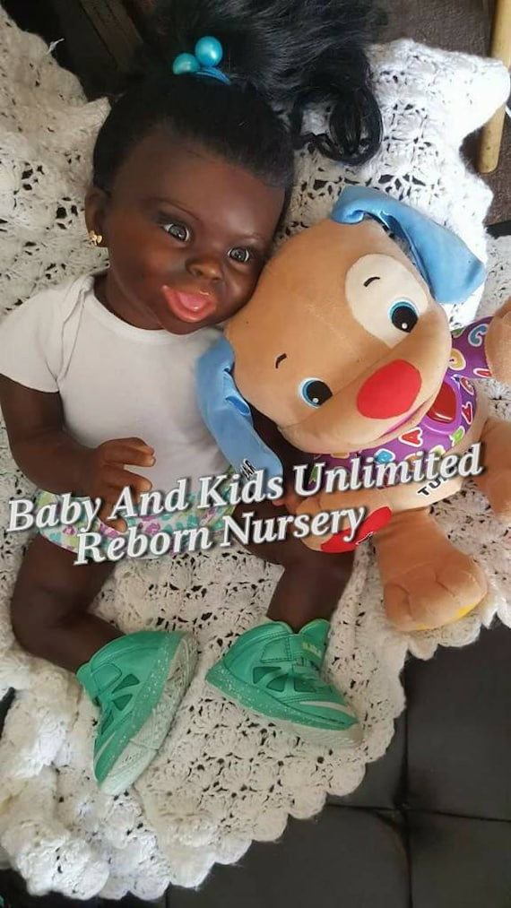 Aa Reborn Toddler Baby African American Pleade Read Listing