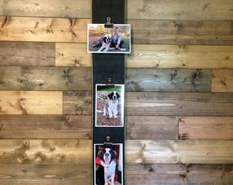 "Pallet Wood Photo Display ""Best Dog Ever"""