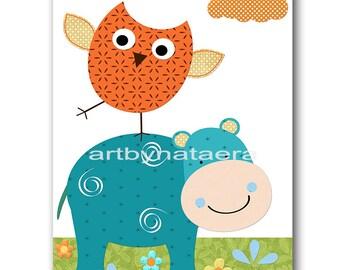 INSTANT Owl DOWNLOAD Print Baby Nursery Decor Nursery Digital Print Baby Boy Nursery Art Printable Art Digital Download Art 8x10 11X14