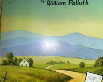 Vintage Walter Foster Paint Book Landscapes You Can Paint
