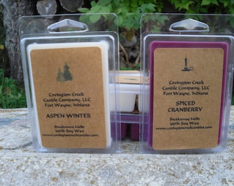 Breakaway Melt Gift Set. Your choice of Scents. Fall Scent, Summer Scent, Kitchen Scent, Outdoors Scent