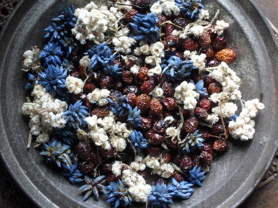 Country Vanilla Potpourri / Fixins with refresher oil