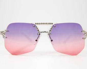 Fashion Sunglasses made with Swarovski Crystals  UVP 400