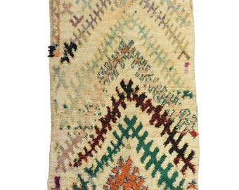 STUNNING BENI MGUILD - Moroccan Rugs - Beni ourain rug