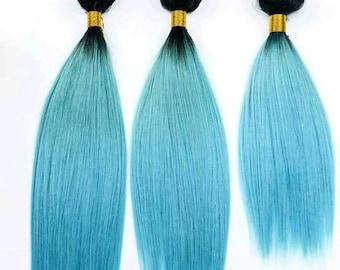 Beautiful blue ombre bundles