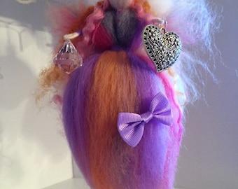 Mystic Needle Felt Fairy, Waldorf Inspired Fairy