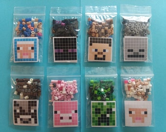 Minecraft Inspired Party Favors