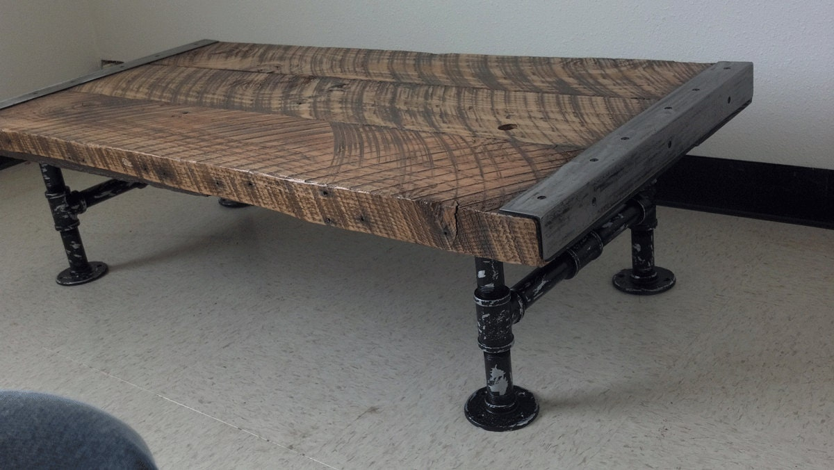 Authentic X Industrial Coffee Table With - Manly coffee table