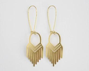 Tribal Fringe Earrings | ATL-E-206