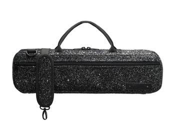 Black Sparkle B-foot Flute Carry Bag