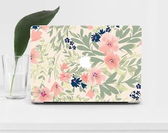 Flowers Macbook Pro 13 A1502 Macbook Pro 15 Retina Macbook Air 13 Watercolor Macbook Air 11 Macbook 12 Florals Pattern Mac Pro 13 2016 70
