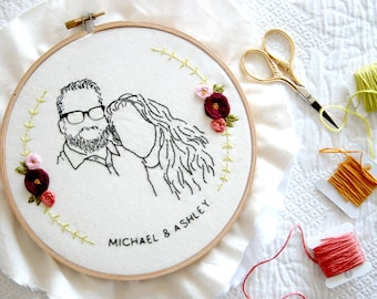 Custom Couple's Portrait