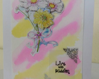 Live With Passion Card