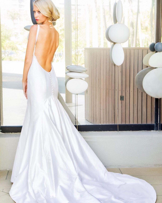 Tolle Einfache Seide Brautkleid Bilder - Hochzeit Kleid Stile Ideen ...