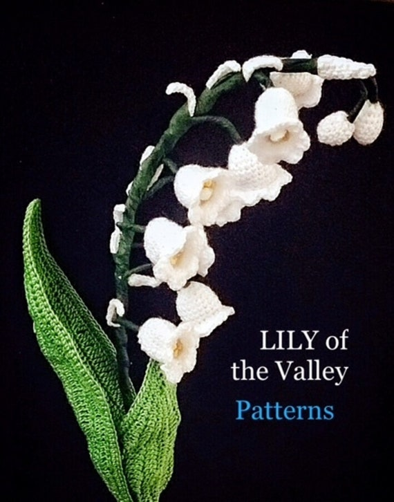 Flower Crochet Pattern Lily Of The Valley Flower Pdf Bouquet White